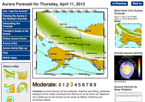 aurora forecast_alaska_fairbanks